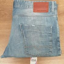 Men's Hugo Boss Orange 63 Today Slim Fit Light Blue Jeans Size 38 Waist-32 Leg  Photo