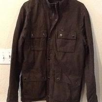 Men's Hurley Cargo Jacket Coat Fleece Lined Size Medium Photo