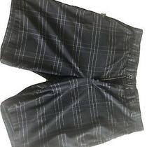 Men's Hurley Nike Dri-Fit Regular Fit Shorts Black Df Chino 21