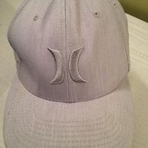 Men's Hurley One and Only Flexfit Stretch Hat Cap Beige L/xl Euc Photo