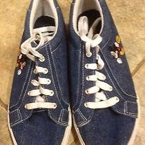 Men's Keds Mickey Mouse Blue Denim Sneakers - Size 11 Photo
