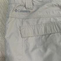 Mens Khaki Columbia Omni-Shield Pants Size 38/32 Photo
