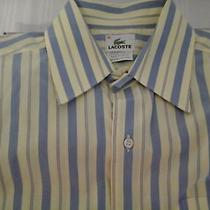 Men's Lacoste Dress Shirt Size 40 Photo
