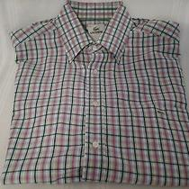 Men's Lacoste Dress Shirt Size 42 Long Sleeved Photo