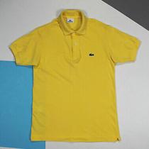 Men's Lacoste Polo Shirt Fresh Yellow (Size 3 s) Photo