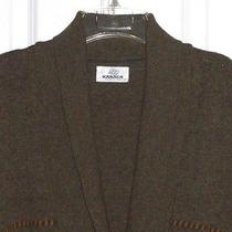 Men's Lambs Wool Cardigan Sweater by Karaca Orvis  U.s. Size Xl (Turkey 4 ) Mint Photo