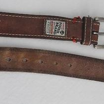Men's Leather Fossil Brand Belt 36 Photo