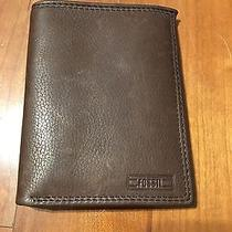 Men's Leather Fossil Wallet  Photo