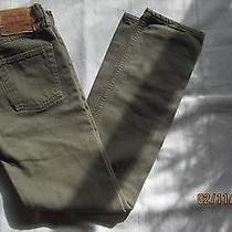 Men's Levi 501 Jeans Str  Size 26 X 32 Green Photo