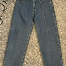 Men's Levis 550 Relaxed Fit Medium Blue Lesotho Jeans 38x30
