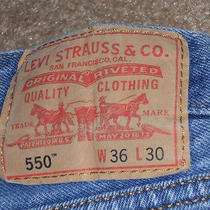 Men's Levi's 550 Relaxed Fit Medium Stonewash Photo