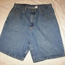 Men's Levi's 560 Denim Jean Shorts - Size 38 - Loose Fit Photo