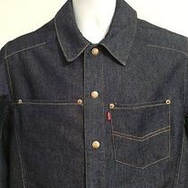 Men's Levi's Engineered Jeans Denim Jacket   Size L Photo