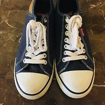 Mens Levi Size 8 Canvas Sneakers Very Good Condition Photo
