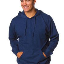 Men's Lightweight Jersey Beach Hoodie Unlined Pullover 4 Colors S M L Xl 2x Photo
