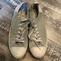 Mens Low Top Converse Mint/tan/gray Size 13 Photo