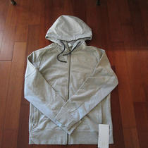 Men's Lululemon Studio Hoodie Bnwt Heathered Mojave Tan Xl Photo