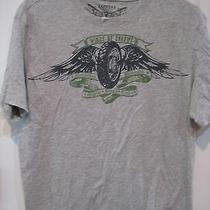 Men's M Express Wings of Chrome Motorcycle T Shirt Photo