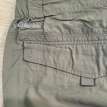 Mens Mossy Green Columbia Omni-Shield Pants Size 38/32 Photo
