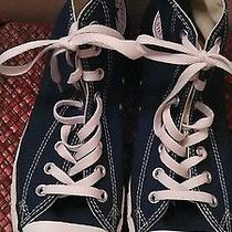 Men's Navy Blue Converse Photo