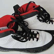 Men's Nike Air Jordan Force Ix White Black Varsity Red - Size 10.5 352753-161 Photo