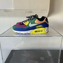 Men's Nike Air Max 90 Qs Viotech 2.0 Size 7.5 Multi Color Cd0917 300 Photo