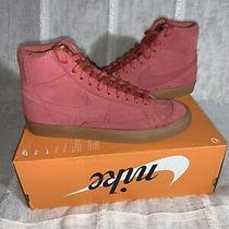 Men's Nike Blazer Mid 77 Light Redwood/gum Medium Brown (Ci1172 800) Size 8.5 Photo
