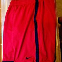Men's Nike Medium Basketball Shorts 22 Overall Length Draw String Fully Lined Photo