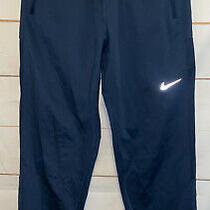 Men's Nike Running Element Thermal Pants Dri-Fit Dark Gray Medium 548160-454 Guc Photo