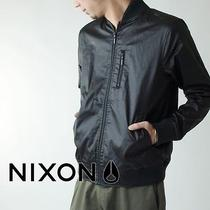Men's Nixon Maverick Black Bomber Jacket ( Large ) Photo