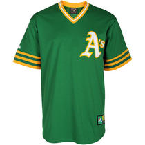 Men's Oakland Athletics Replica Reggie Jackson Cooperstown Alternate Jers Small Photo