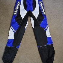 Men's or Boy's o'neal Elements Moto Cross Biking Pants Size 28 Blue Black  Photo