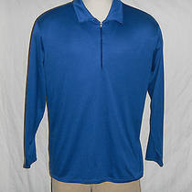 Men's Patagonia Capilene Sz Xxl Blue Half Zip Pull-Over Jacket Coat Base Layer Photo