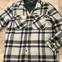 Men's Patagonia Fjord Insulated Flannel Jacket Size Xxl Photo