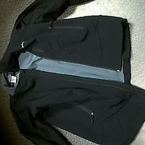 Men's Patagonia Softshell Jacket Black S Full Zip Guide Photo