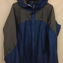 Men's Patagonia Super Cell Jacket Xl Blue Grey Shell Photo