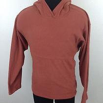 Men's Patagonia Synchilla Featherlite Hoodie Fleece  Pullover--Lrg--Orange Photo