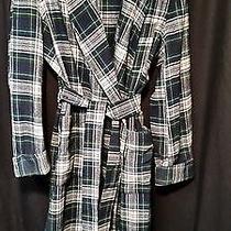 Men's Pendelton Campbell Dress Tartan Plaid Wool Robe Size L Photo