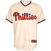 Men's Philadelphia Phillies Replica Cliff Lee Alternate Jersey Extra Large Photo