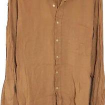 Mens Polo Ralph Lauren Xl Linen Shirt Photo