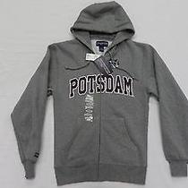 Men's Potsdam Full Zip Fleece Hoodie in Graphite Size Xsmall by Jansport Photo