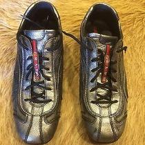 Men's Prada Sneakerleather Shoes Size Prada 8  Us9  Photo