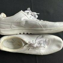 Men's Puma G. Vilas Sneakers - Ecoortholite - White - Size 14 Photo