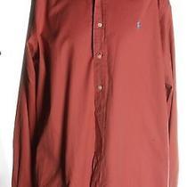 Men's Ralph Lauren Blush Red Long Sleeve Size Xxl Photo