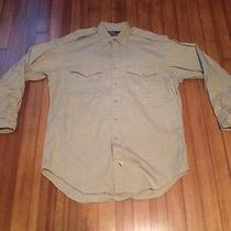 Men's Ralph Lauren Dress Shirt Size Medium Photo