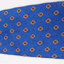 Men's Ralph Lauren Polo Blue & Gold Crests Neck Tie Photo