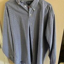 Men's Ralph Lauren Polo Long Sleeve Button Down Shirt Large Photo