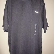 Men's Reebok Athletic Workout Shirt Short Sleeved Charcoal Gray Nwt Size Xl Photo