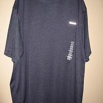 Men's Reebok Athletic Workout Shirt Short Sleeved Heather Navy Nwt Size Xl Photo