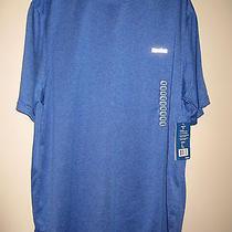 Men's Reebok Athletic Workout Shirt Short Sleeved Royal Blue Nwt Size Xl Photo